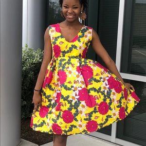 African Ankara women dress